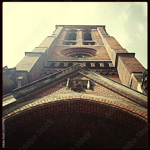 Canvas Low Angle View Of Church Tower
