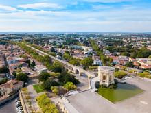 Saint Clement Aqueduct In Montpellier