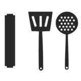 set of kitchen tools