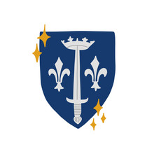 Coat Of Arms Of Joan Of Arc Do...