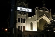 Low Angle View Of Duval Street...