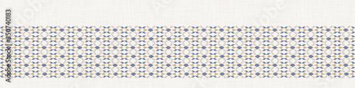 Canvas-taulu Seamless french farmhouse stripe pattern