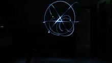 Light Painting In Darkroom