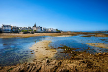The Town Of Roscoff In Coast O...