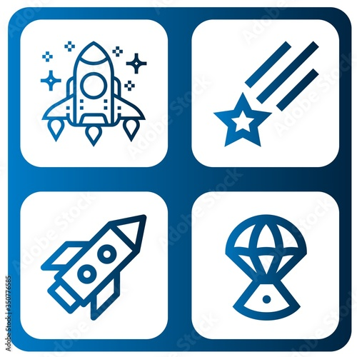 cosmos simple icons set