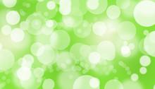 Bokeh Background Green Wallpaper