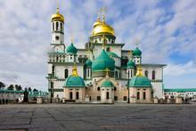 New Jerusalem In Istra. Russia.