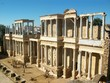 Old Ruin Amphitheatre Of Merida