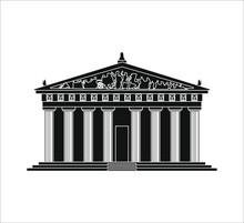 Parthenon In Nashville City In USA