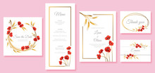 Vector Elegant Wedding Invitat...