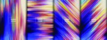 Color Fluid Flow Abstract Blur...