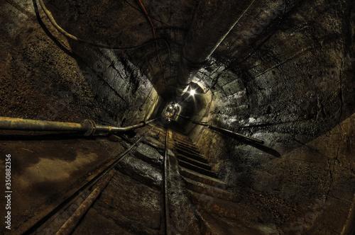 Fototapeta Underground training Coal Mine in Dabrowa Gornicza, Poland