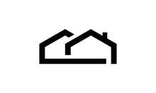 Simple House Vector Logo