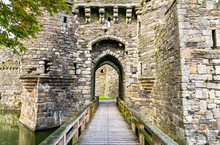 Beaumaris Castle In Wales, UK