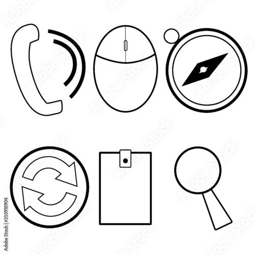 vector icon - 350918904