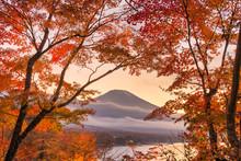 Mt. Fuji, Japan Viewed From Ya...