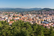 panorama of Campobasso in Molise view from Monforte castle