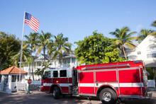 Key West Town Fire Truck