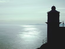 Silhouette Lighthouse At Bantry Bay