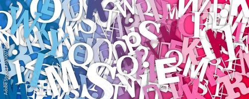 Photo sfondo, lettere, caotiche, disordinate, scrivere