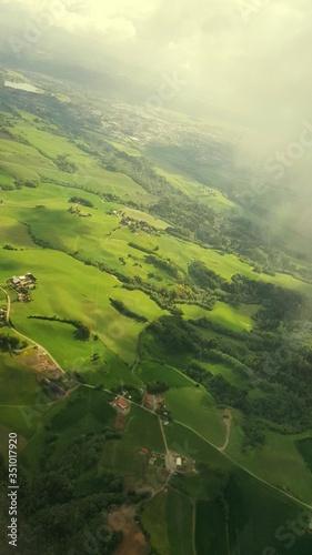 Fototapeta Aerial View Of Landscape obraz na płótnie