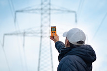Electromagnetic Radiation Measuring Under High Voltage Power Transmission Towers