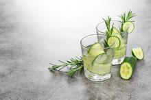 Fresh Drink Cucumber Rosemary ...
