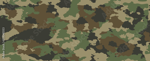 texture military camouflage repeats seamless army green hunting print Wallpaper Mural
