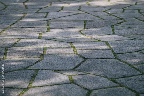 Fotografia Full Frame Shot Of Paving Stone