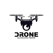 Drone Logo Template Vector Ico...
