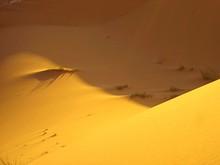 Full Frame Shot Of Sand Dunes At Desert