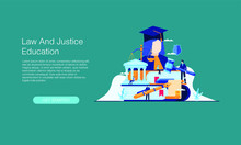 Law And Justice Education Vect...