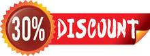 Off, Discount, Stickers, Perce...