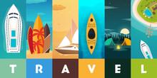 Travel Concept Background. Sum...