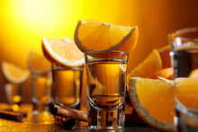 Tequila With Orange And Cinnam...