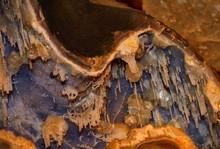 Macro Shot Of Raw Crystals