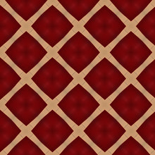 Red And Gold Diamond Pattern