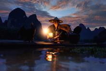 Fisherman Of Guilin, Li River ...