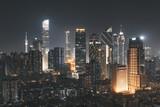Fototapeta Miasto - guangzhou city at night