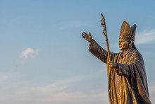 Statue Of Pope John Paul II At...