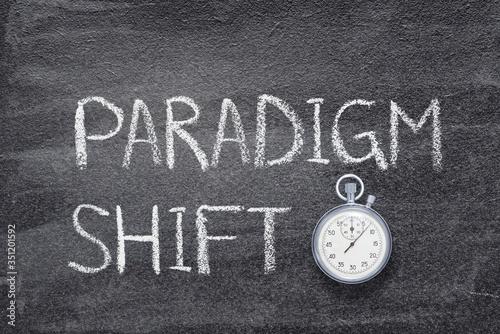 Obraz paradigm shift watch - fototapety do salonu