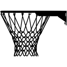 Basket Ball Ring Vector. Isola...