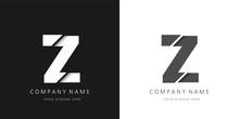 Z Logo Modern Letter Broken Design