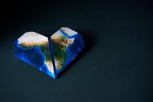 Heart-shaped Africa Map (furni...
