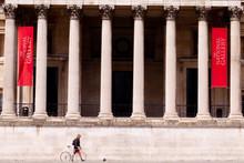 London, U.K. - 15 May 2020: The National Gallery Is Deserted - London In Lockdown