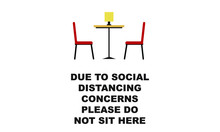 Due To Social Distancing Conce...