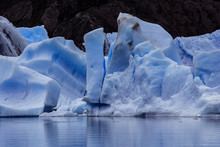 Ice Piece In The Lake Of Gray,...