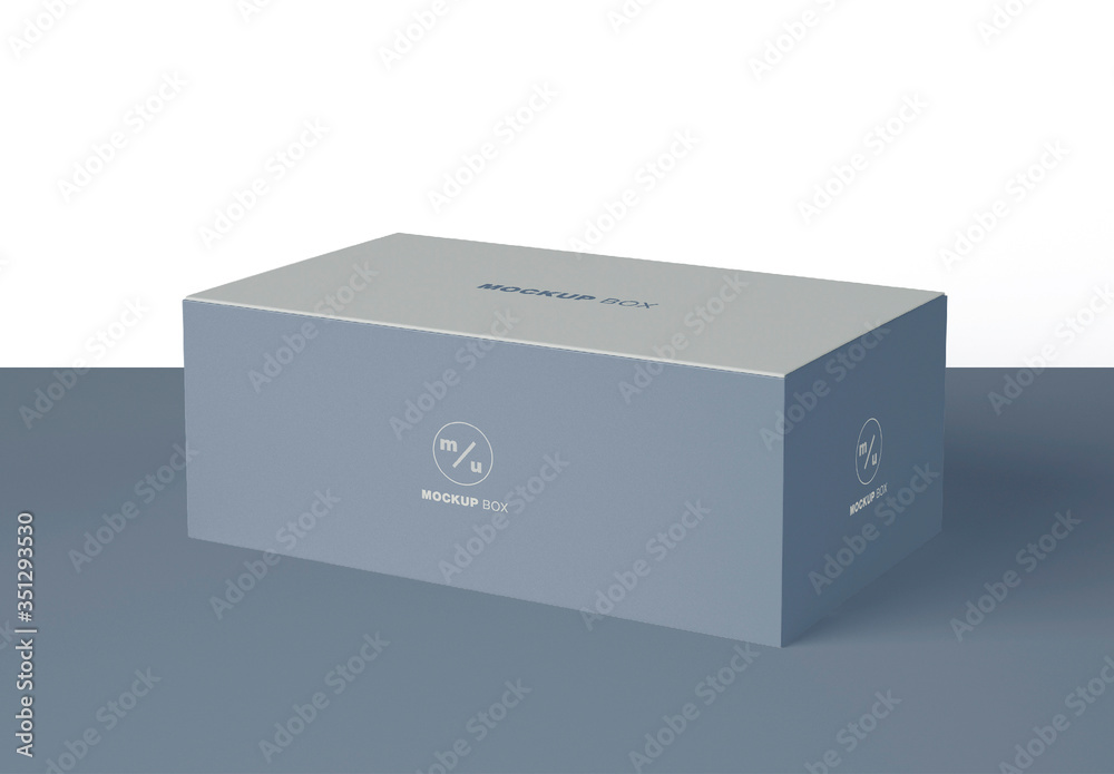 Fototapeta Box Packaging Mockup