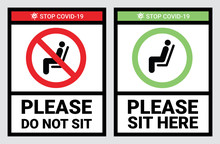 Please Do Not Sit And Sit Here...