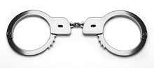 Real Metal Handcuffs. Closed P...